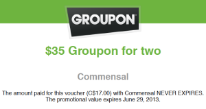 Remember to sign up for daily emails from Groupon for your destination cities well in advance of your trip.