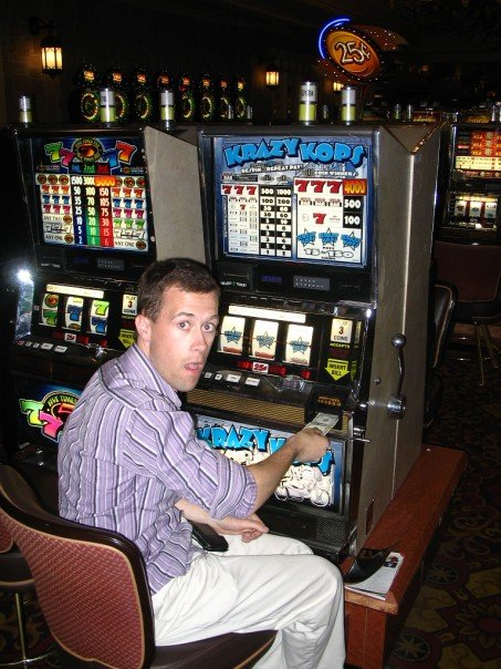 Save money or play the slots -- either way, traveling costs money.