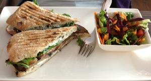 Best. Sandwich. Ever. Cafe Veritas in Old Port.