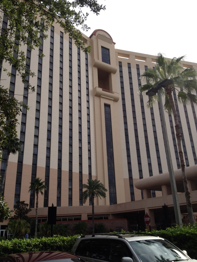 The Rosen Centre is big ... really, really big for a hotel in Orlando.