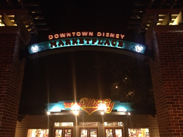 """Downtown Disney,"" Mickey Mouse-ese for ""Welcome to souvenir city."""