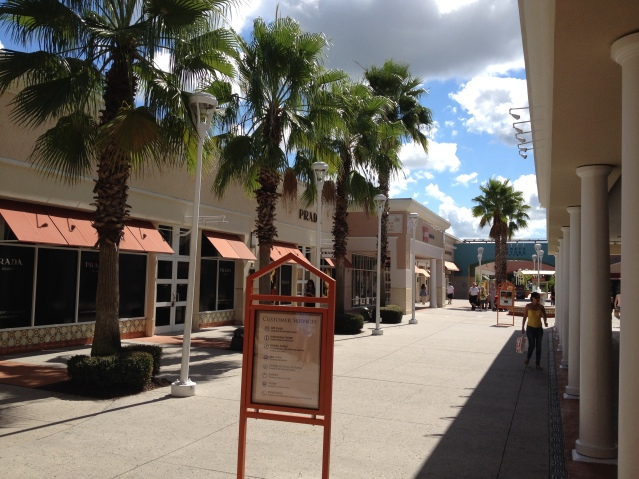 Fanciest outlet mall on Earth, off Vineland Avenue in Orlando.