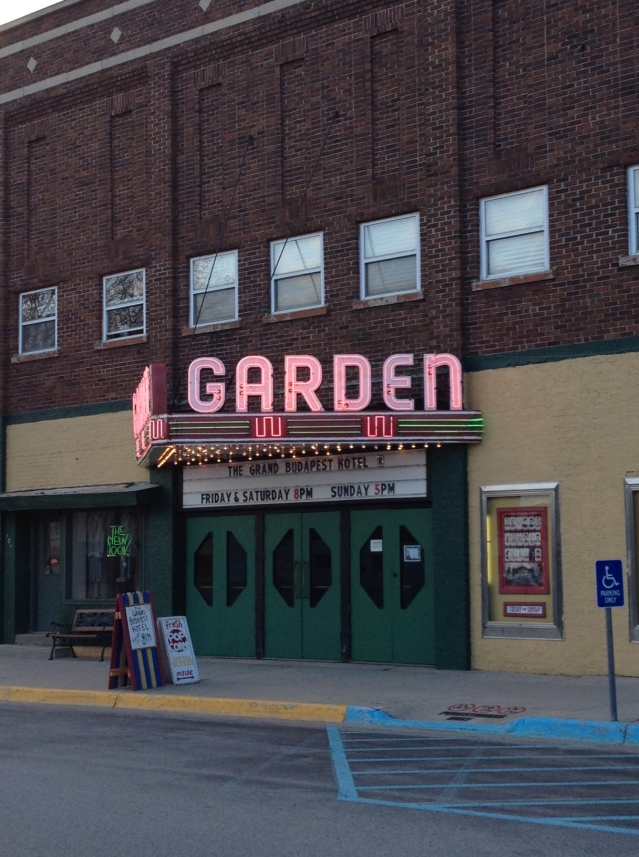 The Garden Theater.