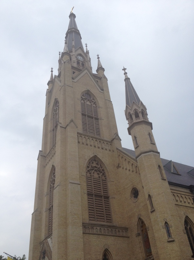 Basilica of the Sacred Heart - Notre Dame.