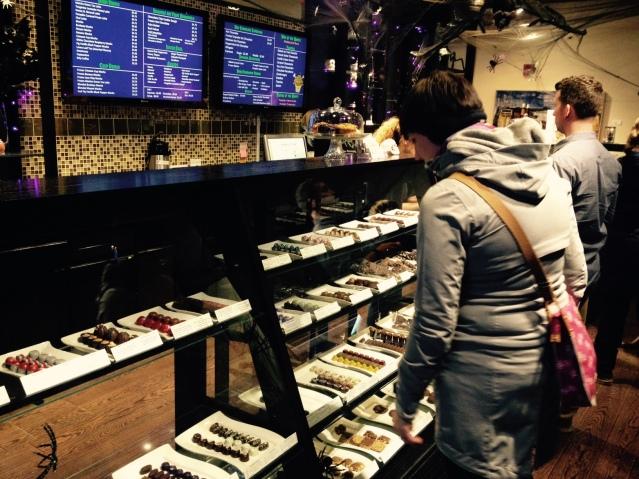 Mmm ... fancy chocolates.