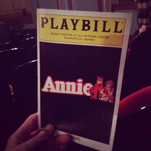 Leapin' lizards! It's Annie!