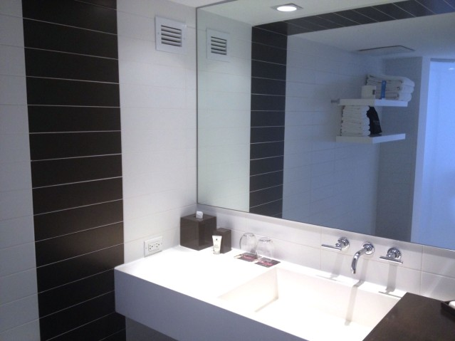 Pretty standard bathroom.