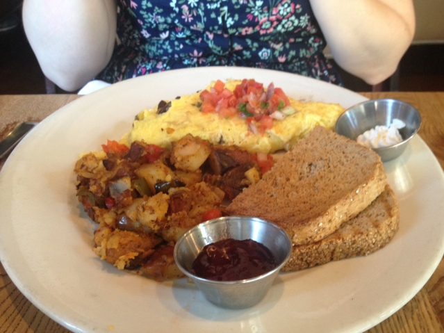 Busboys and Poets offers a great—and affordable—brunch menu.
