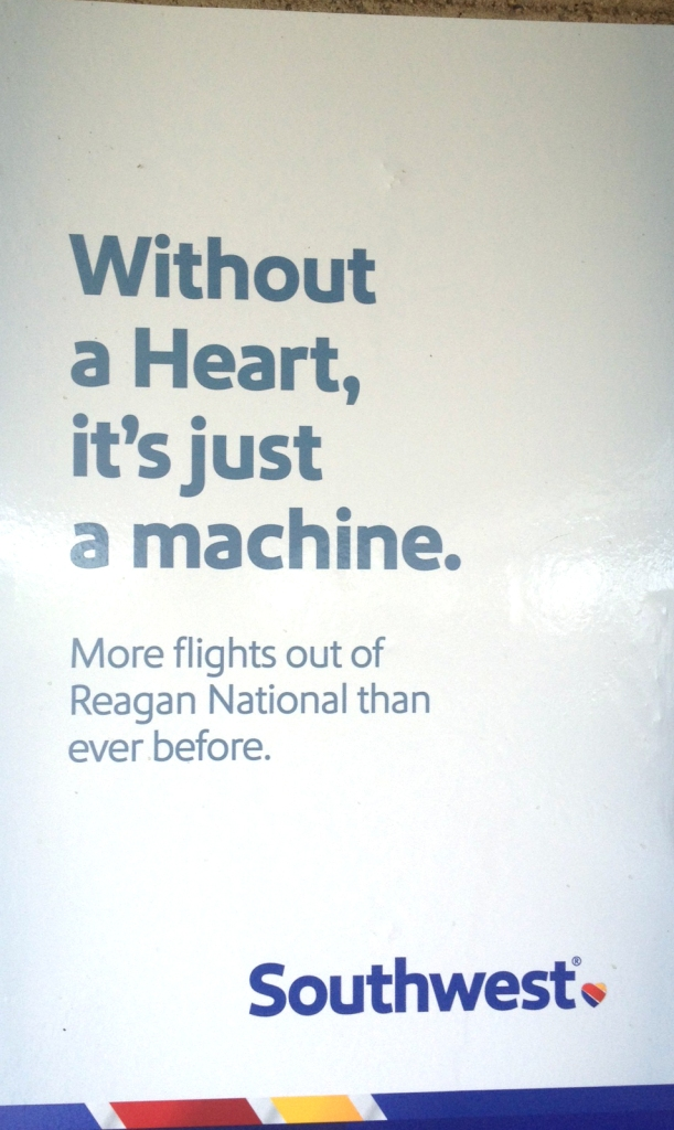The kind of machine that re-books your flight ... twice, due to staffing shortages.