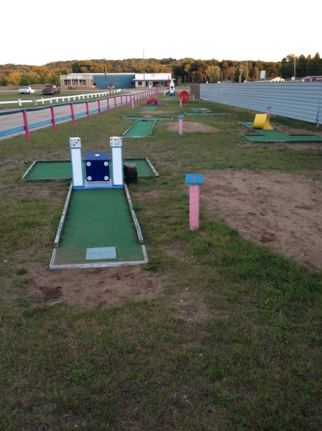 Mini golf too? I must be in heaven!