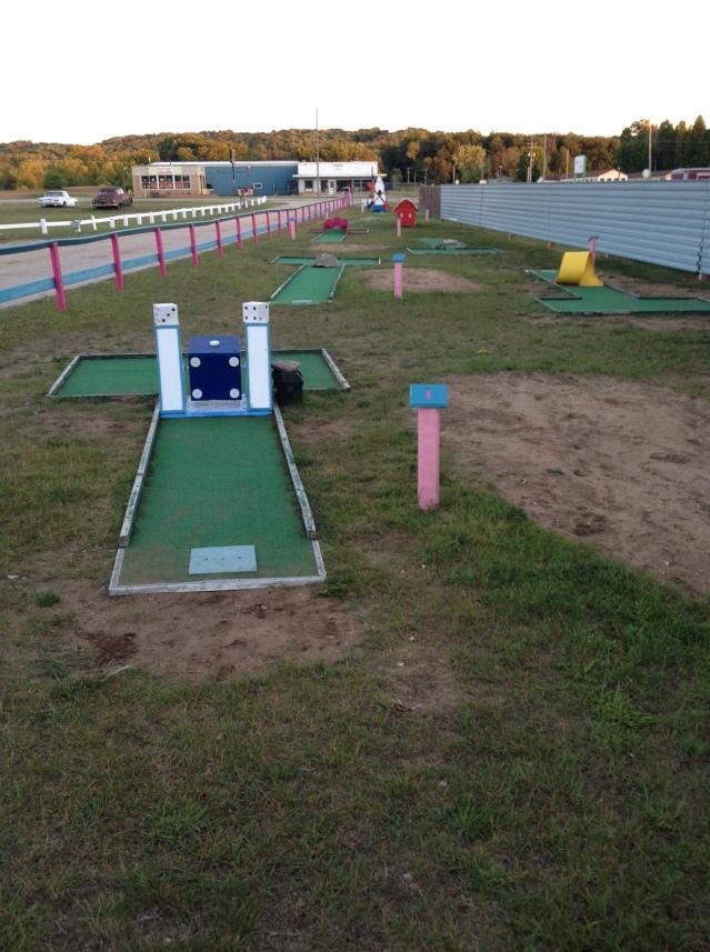 Mini golf too? I must be in heaven!