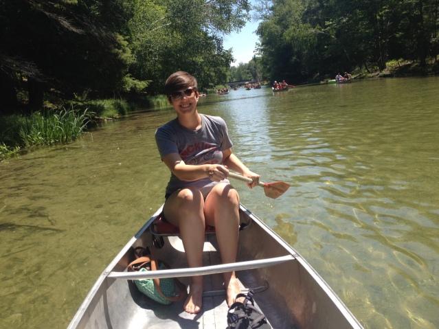 Paddle like you've never paddled before, Caitlyn!