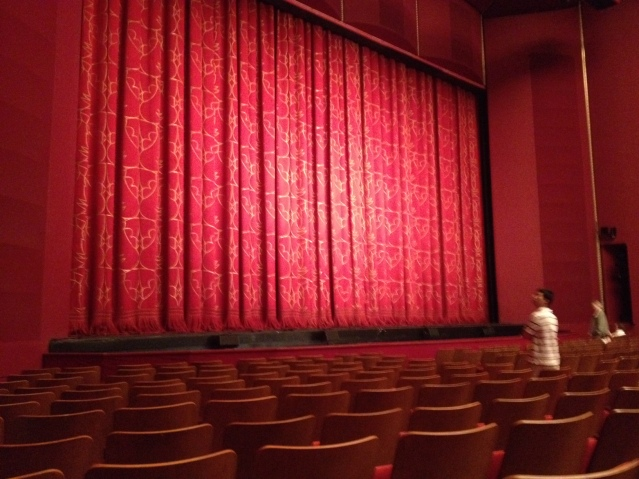Drama at The Kennedy Center.