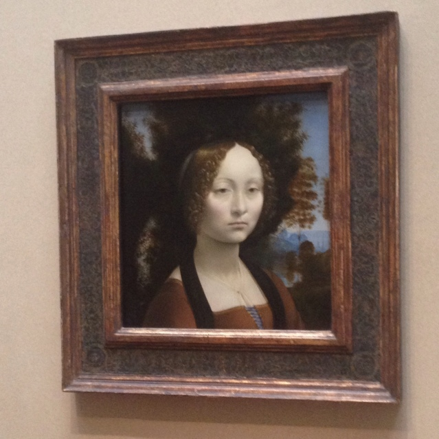 The only Da Vinci this side of the Atlantic.