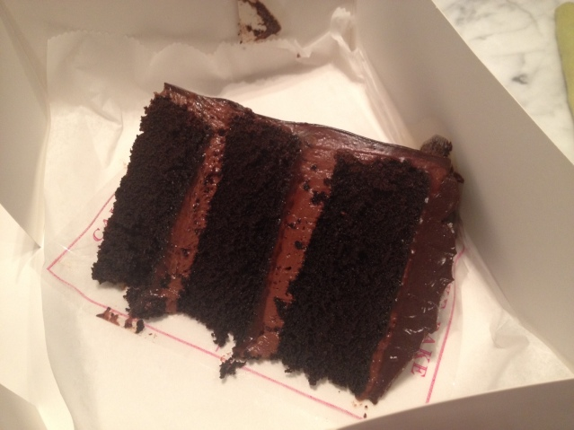 Tasty—but expensive—treat from the Cake Bake Shop.